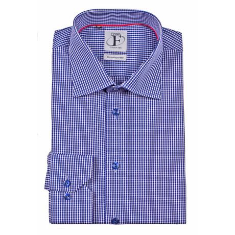Button-Down Shirt // Navy Check