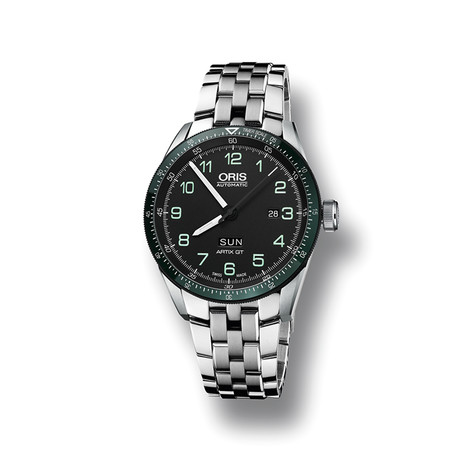 Oris Calobra Day Date Automatic // 73577064494SET