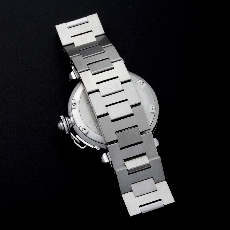Cartier Pasha Big Date Automatic 2473 Gw120 C