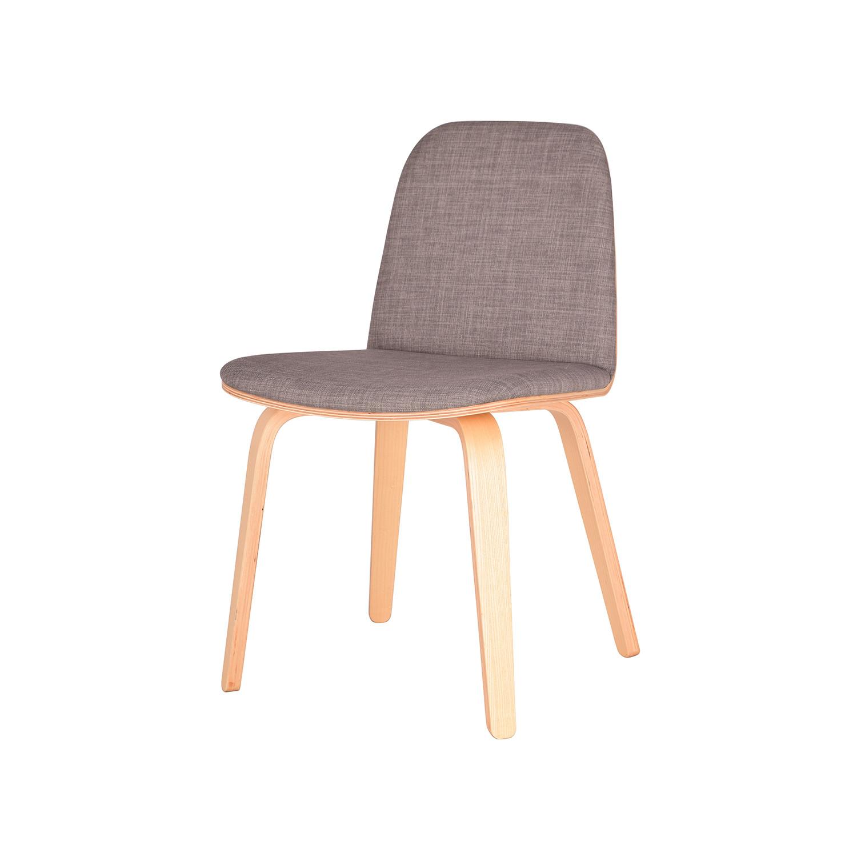 Bloom Chair (Grey + Walnut)