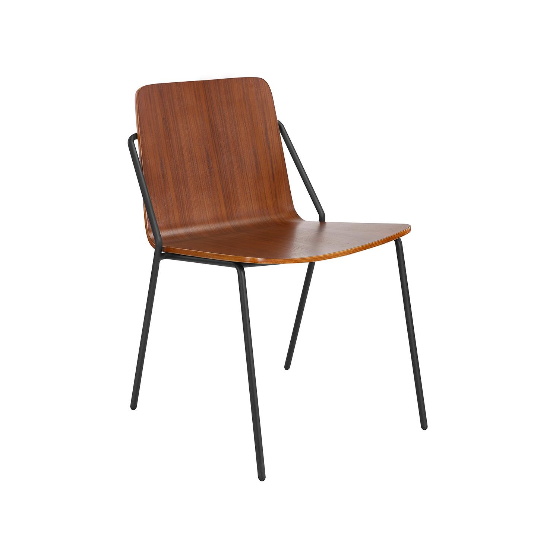 Genial Sling Chair (American Ash + White)