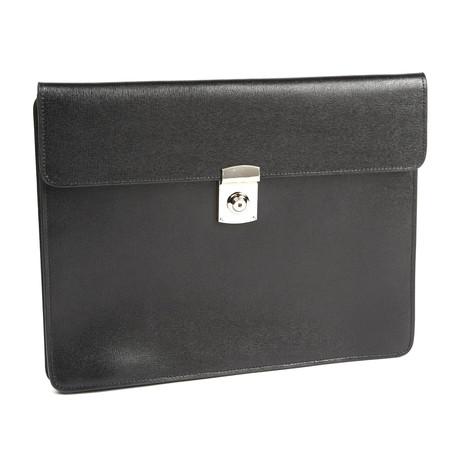 RFID Blocking Underarm Brief // Saffiano Leather