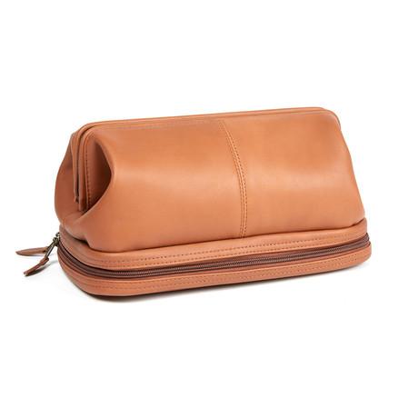 Travel Wash Bag // Tan