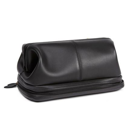 Travel Wash Bag // Black