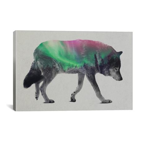 """Wolf // Andreas Lie (26""""W x 18""""H x 0.75""""D)"""