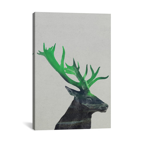 "Deer // Andreas Lie (18""W x 26""H x 0.75""D)"