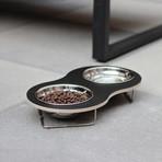 Peanut Pet Bowl (White)