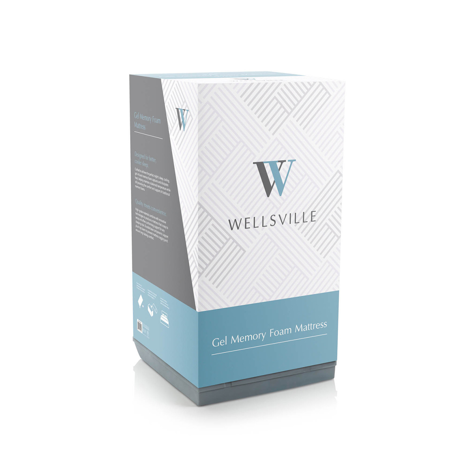 Wellsville Mattress Full Hi Tech Pillows Amp Bedding