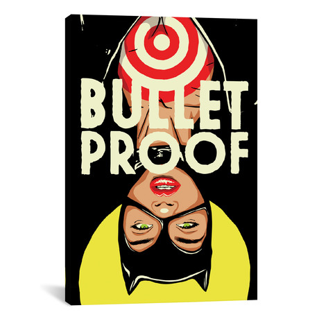 "Bulletproof (26""W x 18""H x 0.75""D)"