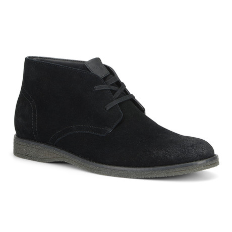 Harman Chukka Boot // Black + Smoke