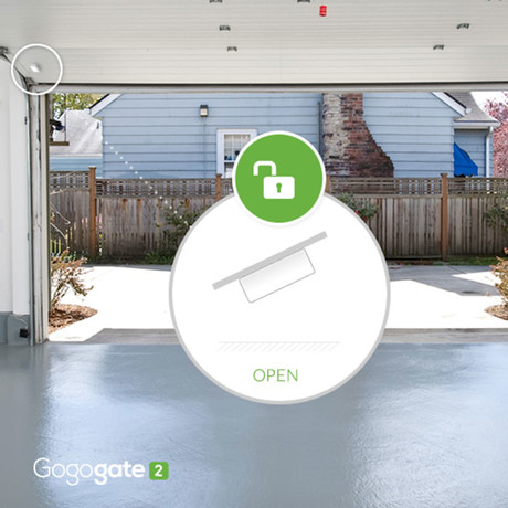 Gogogate // Wireless Tilt Garage Door Sensor