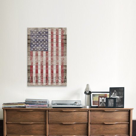 American Flag II // Canvas