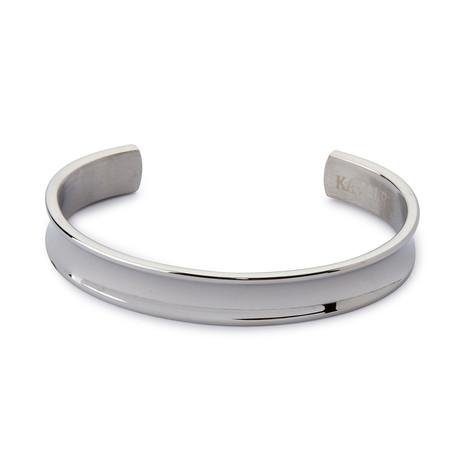 Steel Cuff // Silver