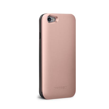 Gresso Slider // iPhone 6/6s Case + Wallet (Rose Gold)
