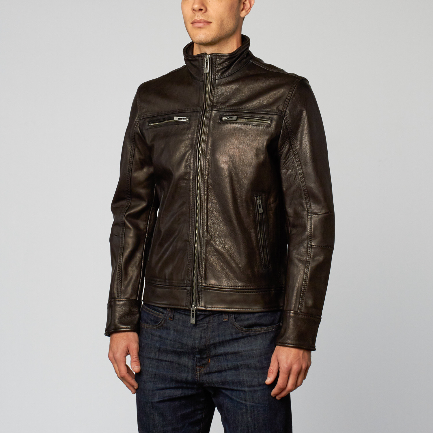 Classic Leather Jacket // Black (S) - Rogue State
