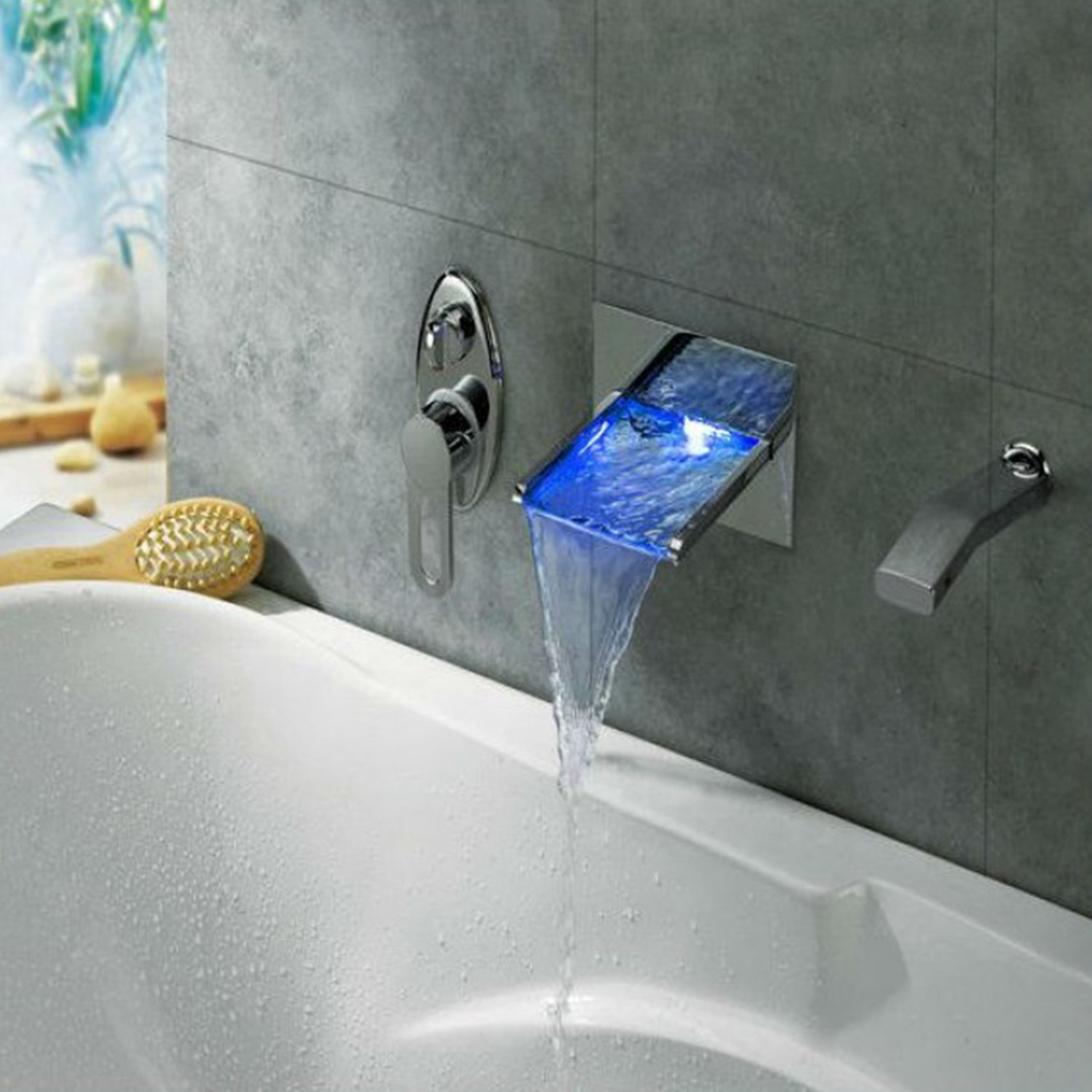 Le Havre Waterfall Bathtub Set - JunoShowers - Touch of Modern