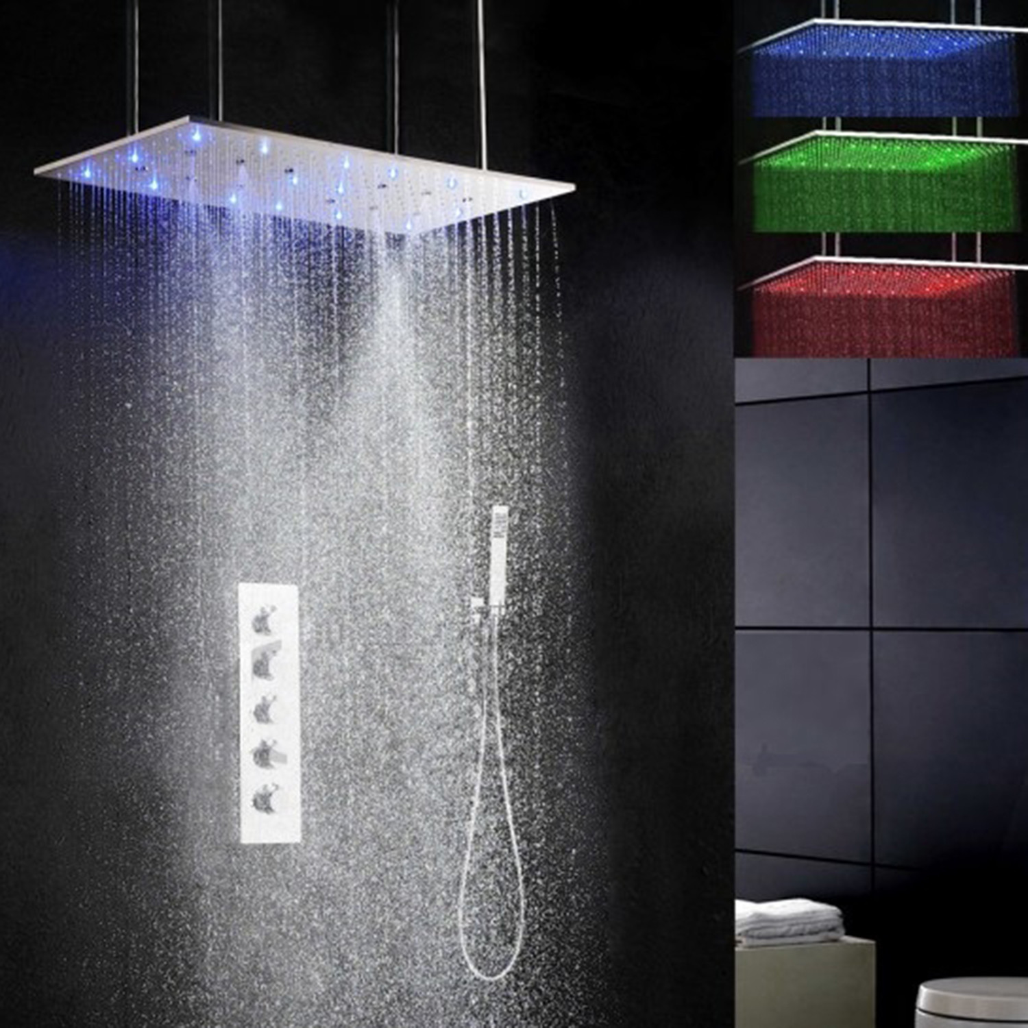 Amore // Atomizing Swash + Rainfall Shower System - JunoShowers ...