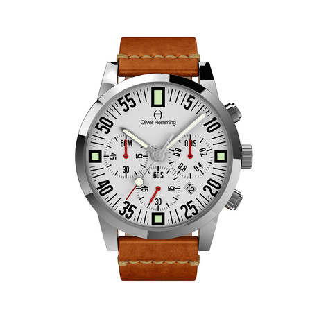 Oliver Hemming Engineer Chronograph Quartz // WTC17S80WVT