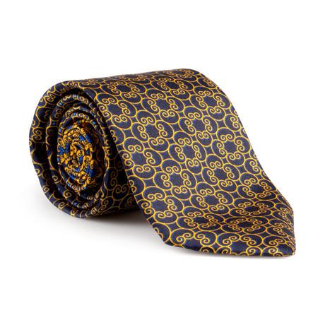Caesar Silk Tie // Gold