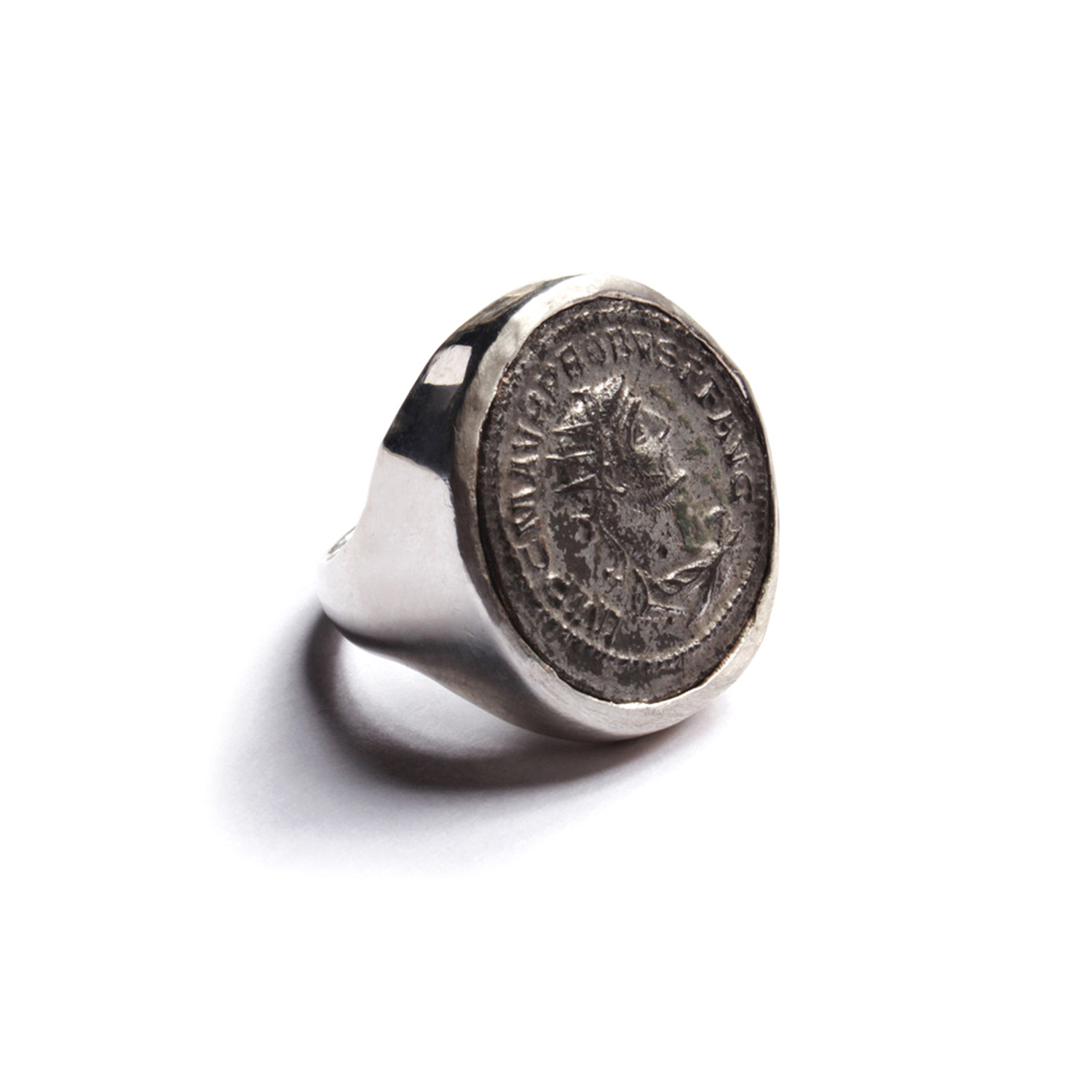 716fdc90abb09 Probus Antique Roman Coin Ring - We Are All Smith - Touch of Modern