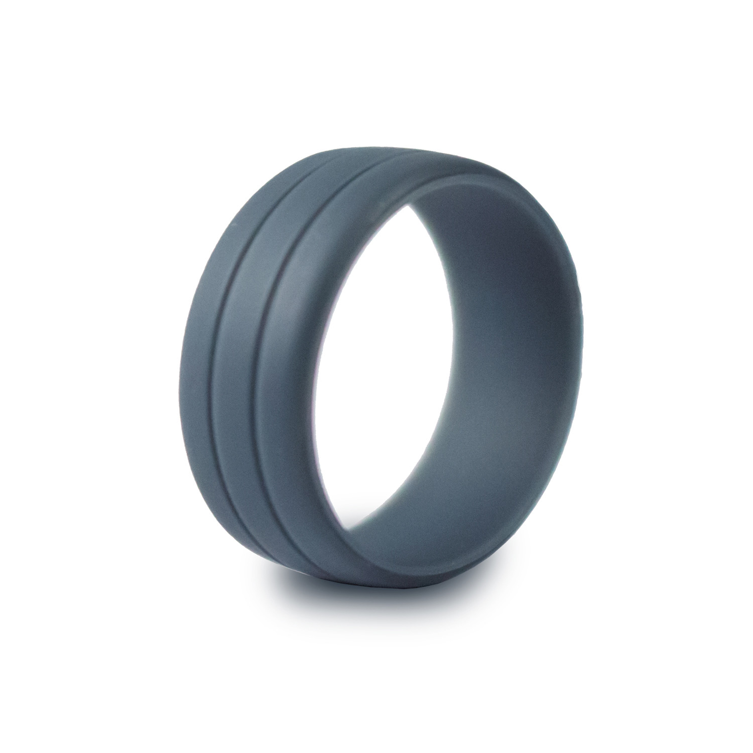 Ultralite Silicone Ring // Slate (Size 8)
