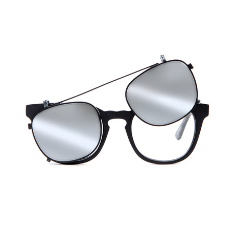 9020441bc26 Showtime    Matte Black + Silver Mirror Lens
