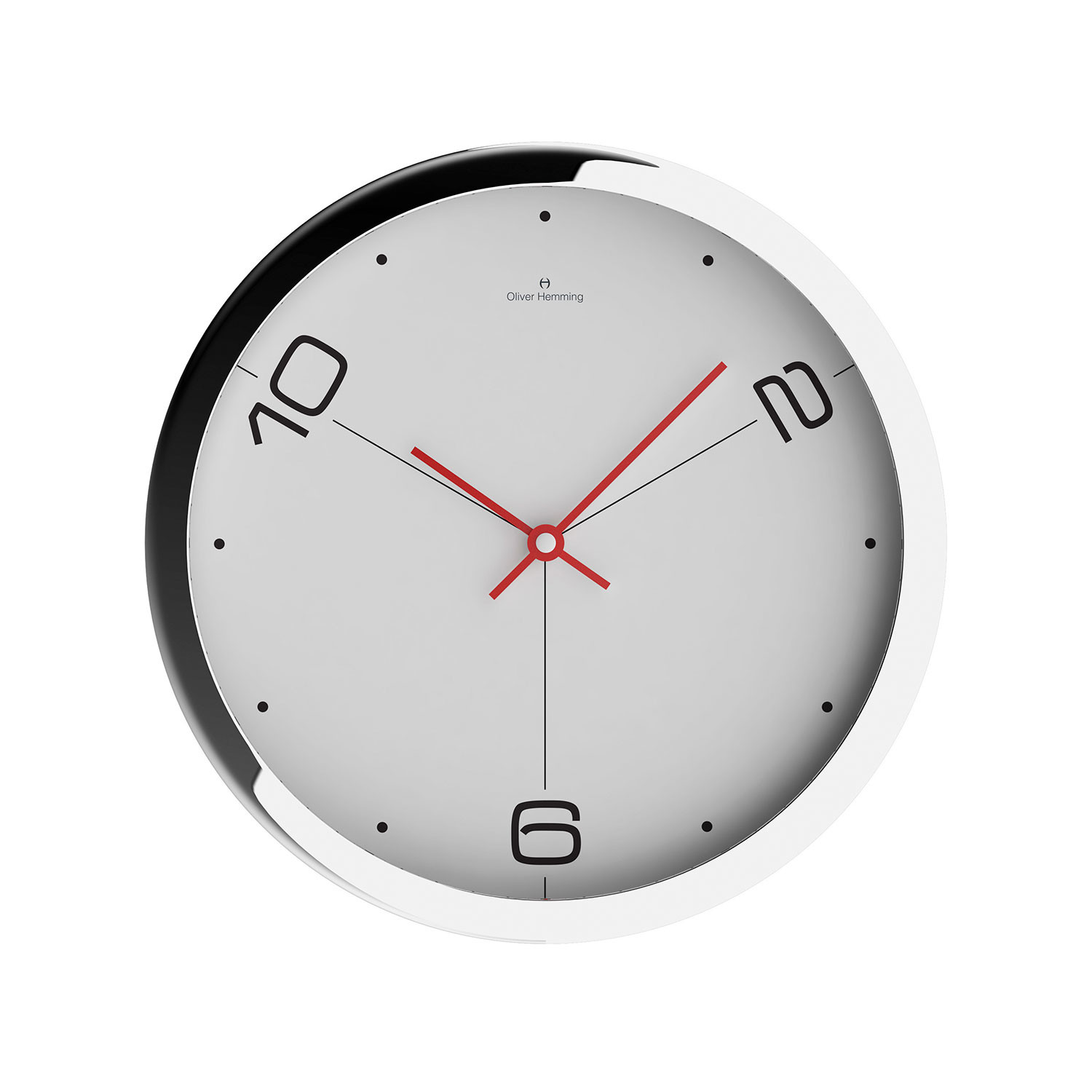 Duplex collection 16 wall clock w403s14w oliver for Touch of modern clock