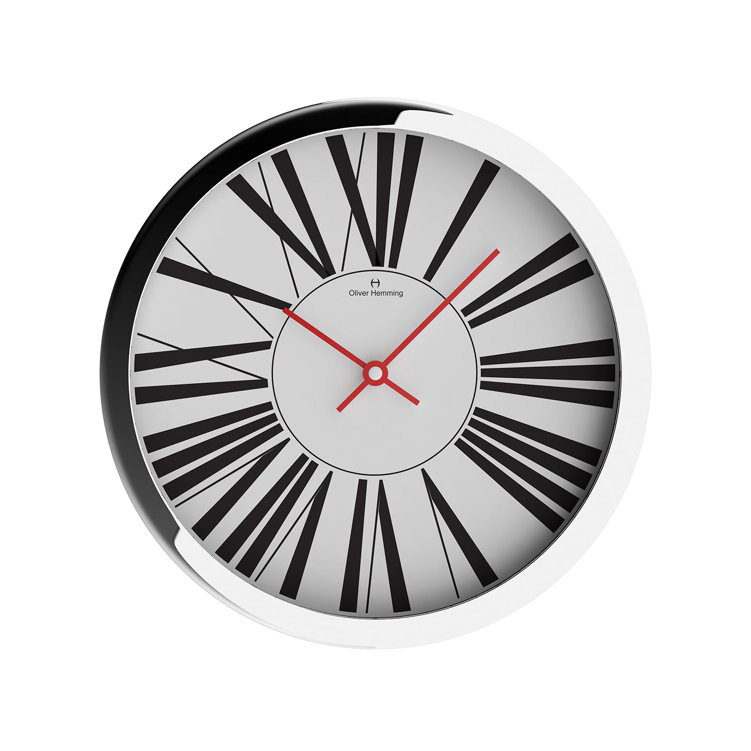 Duplex collection 16 wall clock w403s53w oliver for Touch of modern clock