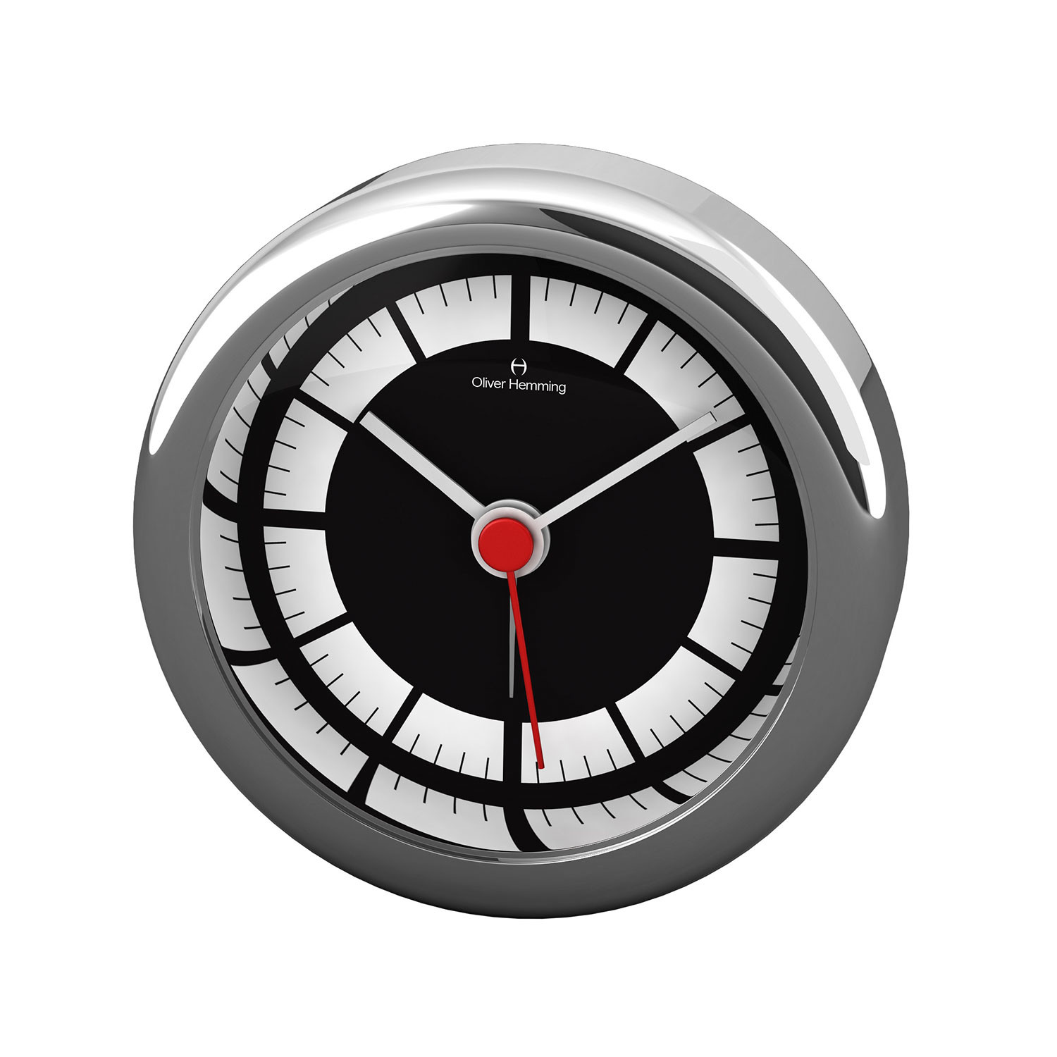 Desire mini collection alarm clock h58s71b oliver for Touch of modern clock