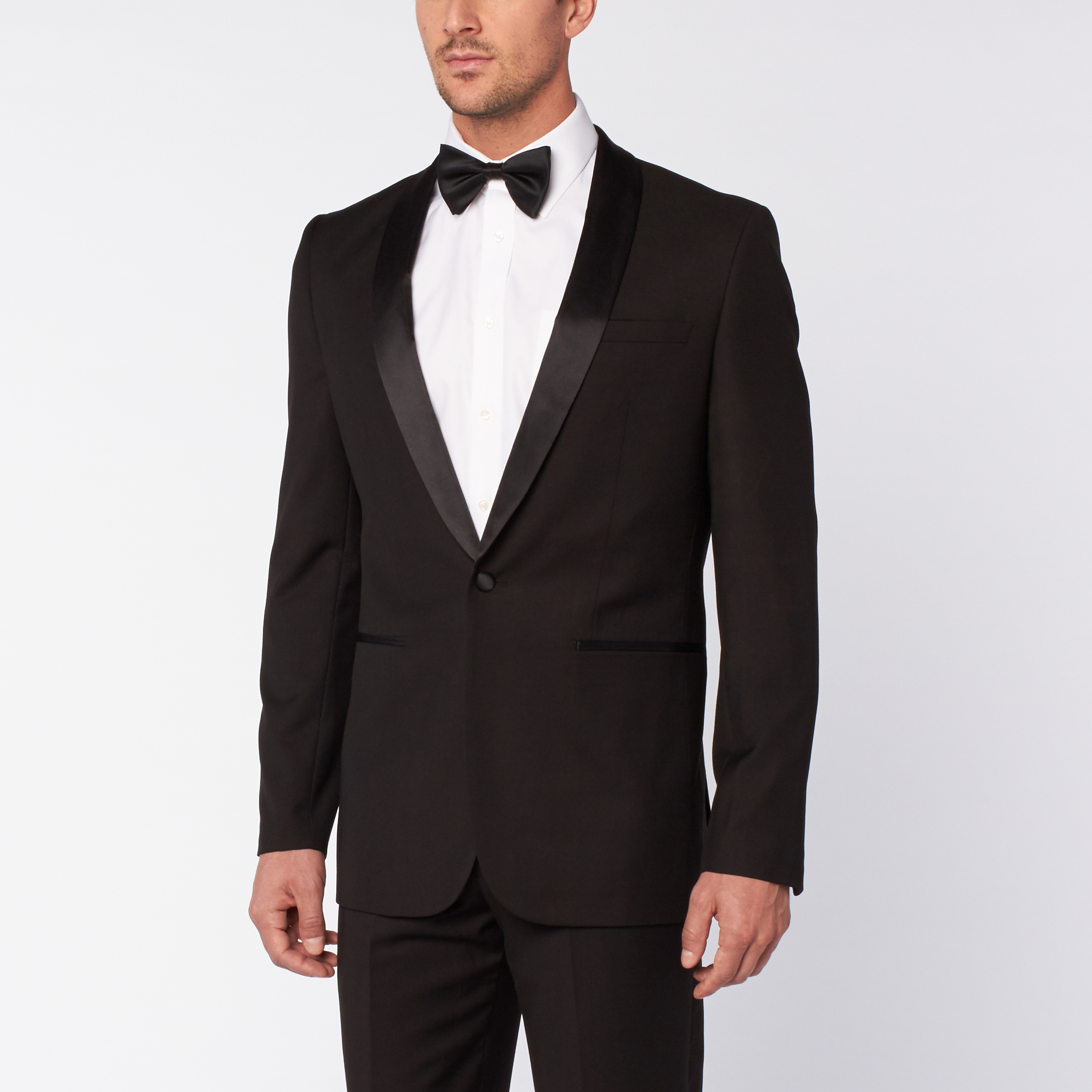 f12a9c10108b45 Runway Slim Fit Tuxedo // Black (US: 36S) - Braveman Suits - Touch ...