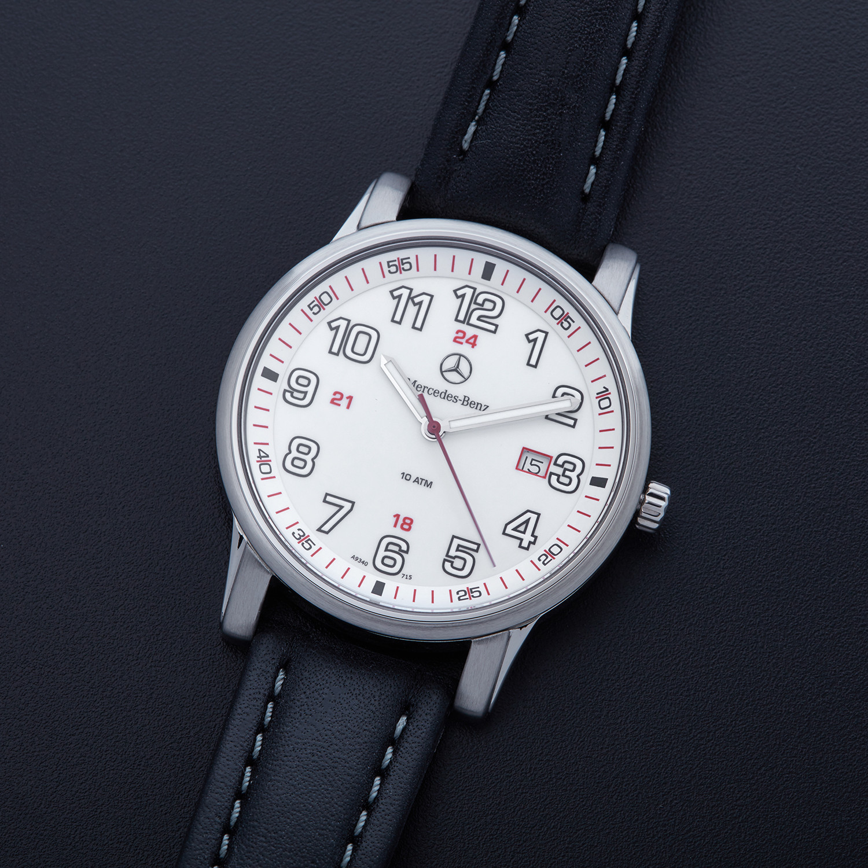 Mercedes benz luminous quartz amht140wh mercedes benz for Mercedes benz watch price