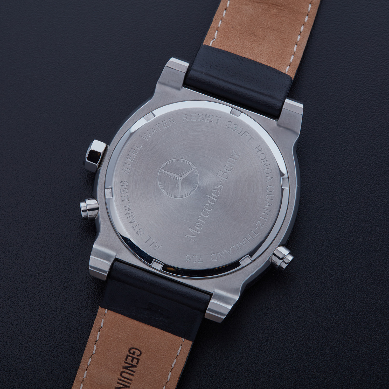 Mercedes benz chronograph dial quartz amht160 for Mercedes benz salesman
