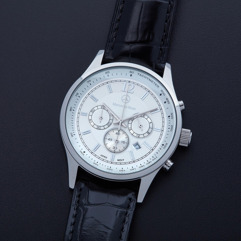 Mercedes-Benz Official Men's Classic Carré Chronograph ... |Mercedes Benz Chrono Watches