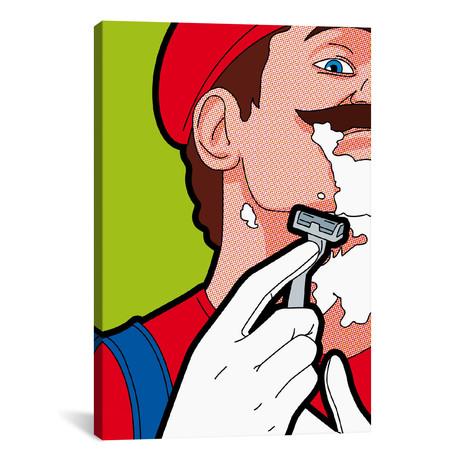 """Mario Hair // Gregoire """"Leon"""" Guillemin (26""""W x 18""""H x 0.75""""D)"""