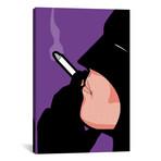 "Bat-Smoke // Gregoire ""Leon"" Guillemin (26""H x 18""W x 0.75""D)"
