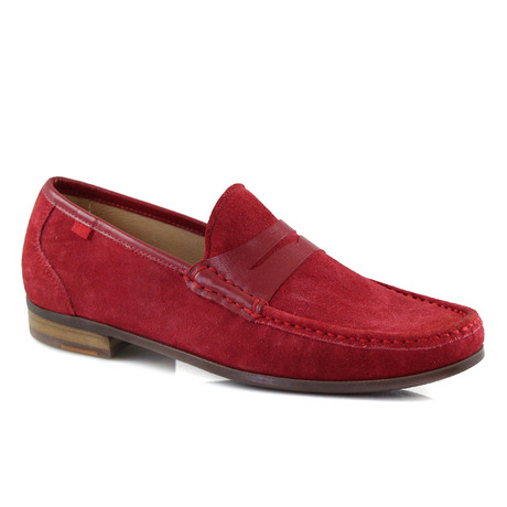 Union Square Suede Loafer // Red (US: 7)