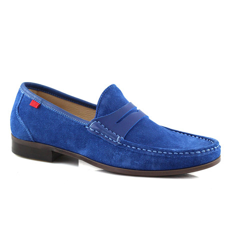 Suede Union Square Loafer // Royal Blue (US: 7)
