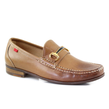 Grand Street Buckle Loafer // Tan