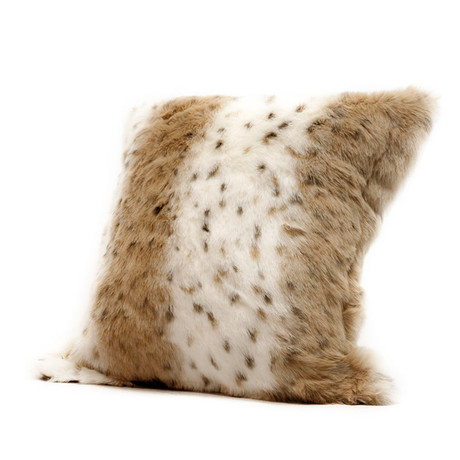 Lynx Plush Pillow (Cover + Insert)