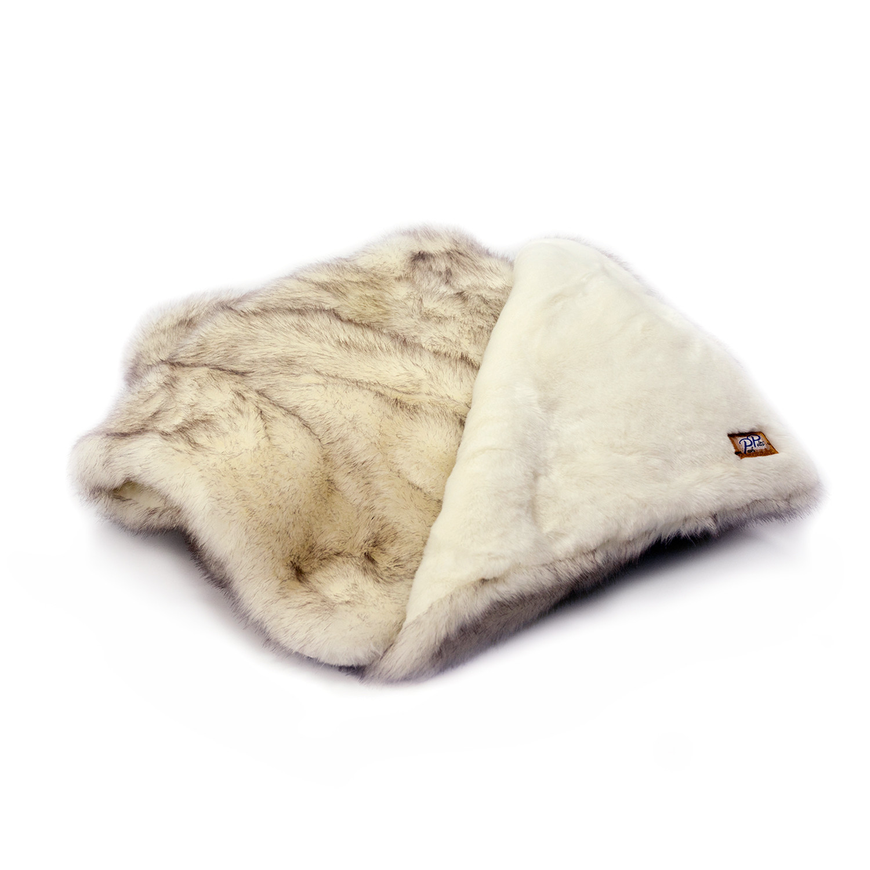 arctic fox  throw blanket (brown tip)  posh pelts  touch of modern - ecebdbbafbfbbbff medium