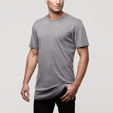CB Tall Tee // Grey