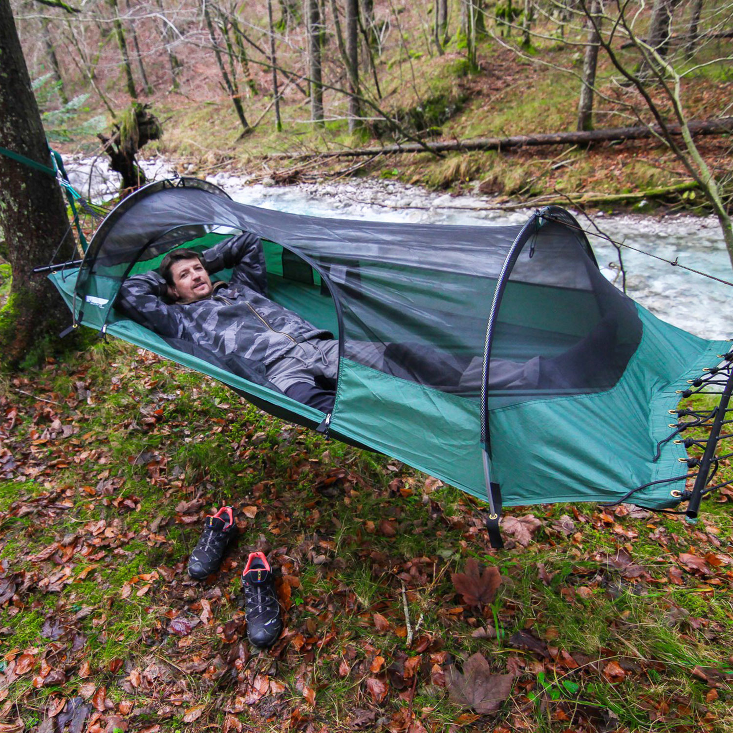Medium image of blue ridge camping hammock