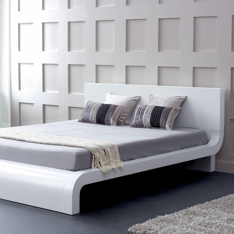 Modrest Roma Modern Platform Bed King VIG Furniture Touch of
