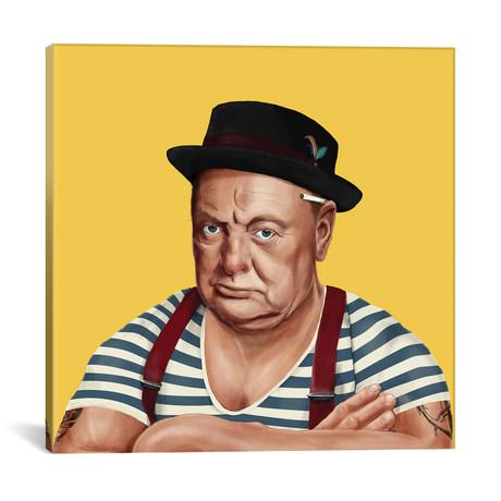 "Winston Churchill // Amit Shimoni (18""W x 18""H x 0.75""D)"