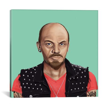 "Vladimir Lenin // Amit Shimoni (18""W x 18""H x 0.75""D)"