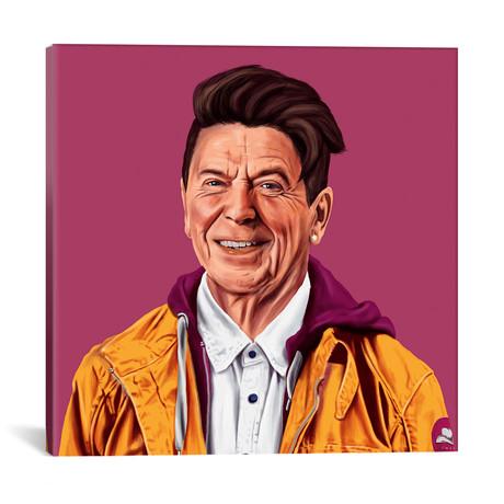"Ronald Reagan // Amit Shimoni (18""W x 18""H x 0.75""D)"