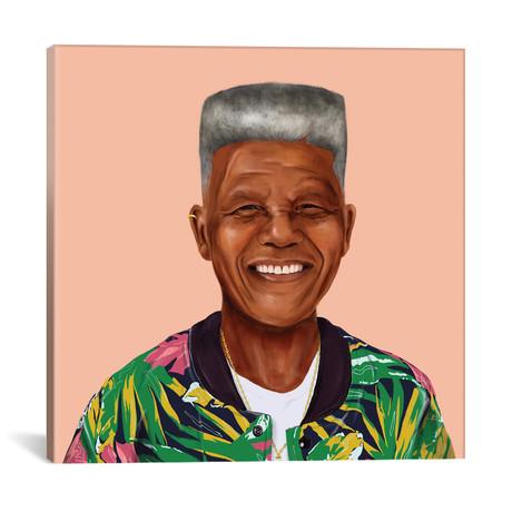 "Nelson Mandela (18""W x 18""H x 0.75""D)"