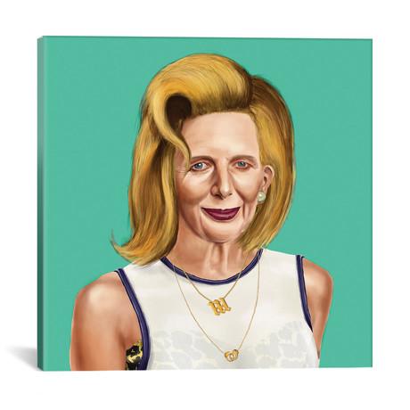 """Margaret Thatcher (18""""W x 18""""H x 0.75""""D)"""