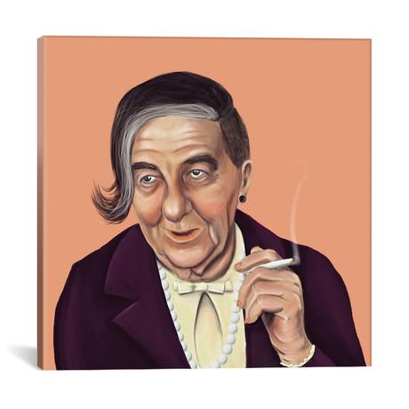 """Golda Meir // Amit Shimoni (18""""W x 18""""H x 0.75""""D)"""