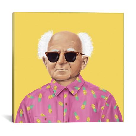 """David Ben Gurion // Amit Shimoni (18""""W x 18""""H x 0.75""""D)"""
